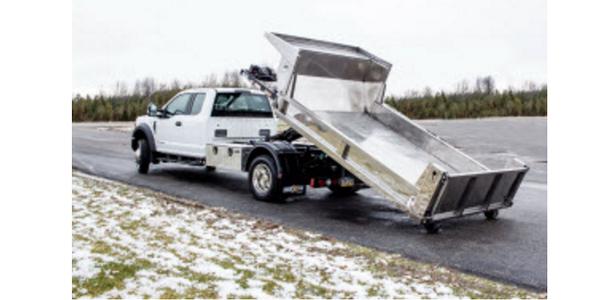 Easy-Slide Steel Dump Body