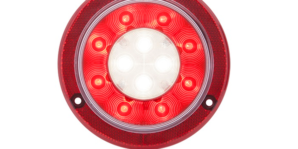 Surface-Mount Four-Inch Round LED Lamp