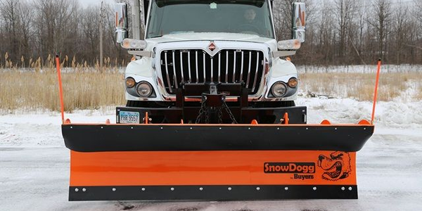 SnowDogg Municipal Series Reversible Plow