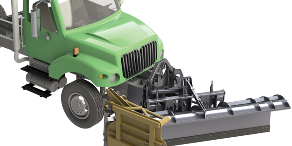 Snow-Gate Truck Plow
