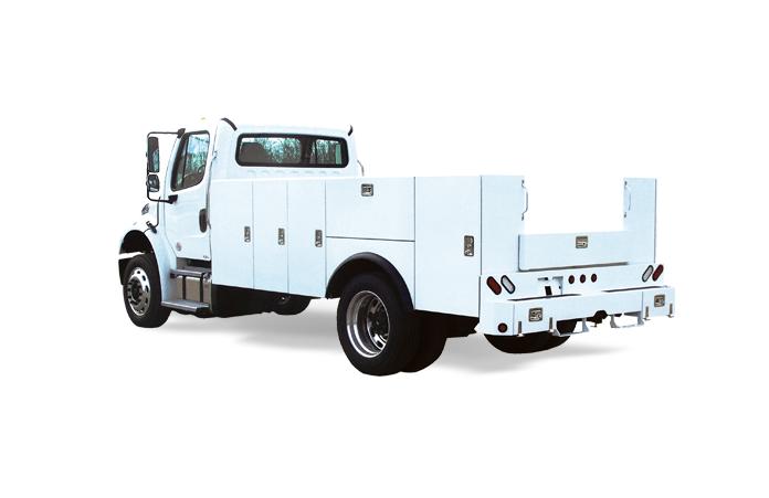 MDST Medium Duty Truck Service Body