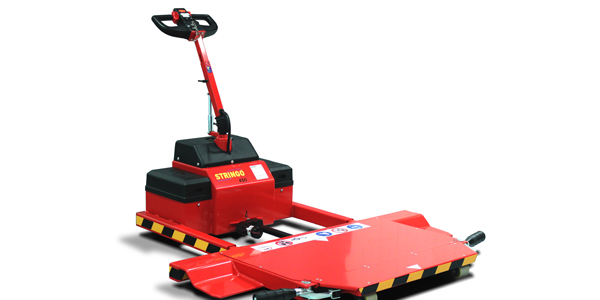 The Stringo 450 was upgraded to be able to move cars weighing up to three tonnes, while it's...