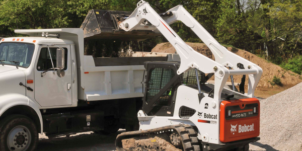 T870 compact track loader. Photo courtesy of Bobcat