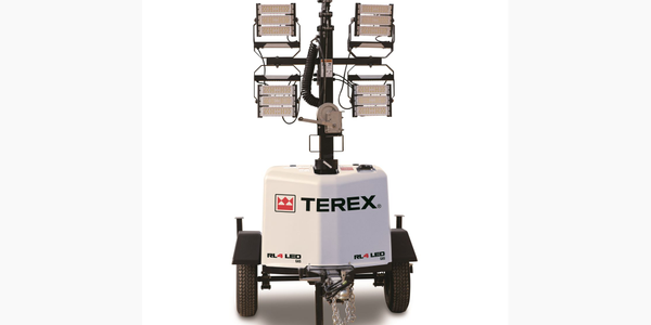 The Terex RL4 LED gas-powered light tower is availableforspecial event venues, airports,...