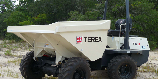 Site dumpers such as the Terex TA3 can be used in upkeep of public properties such as parks,...