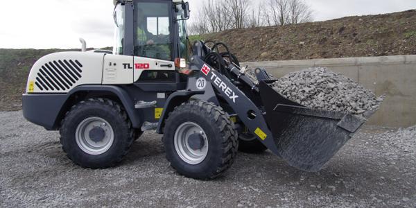 Terex TL120 wheel loader Photo courtesy of Terex