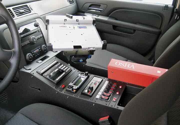 Chevrolet Tahoe Wide Body Console Police Government Fleet