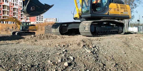 SK350LC Excavator
