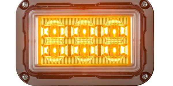 Directional LED Warning Lights