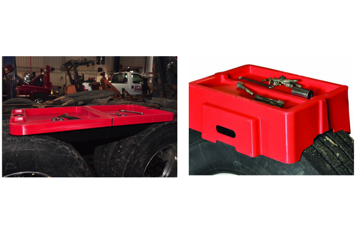 Single-Tire and Tandem Work Benches