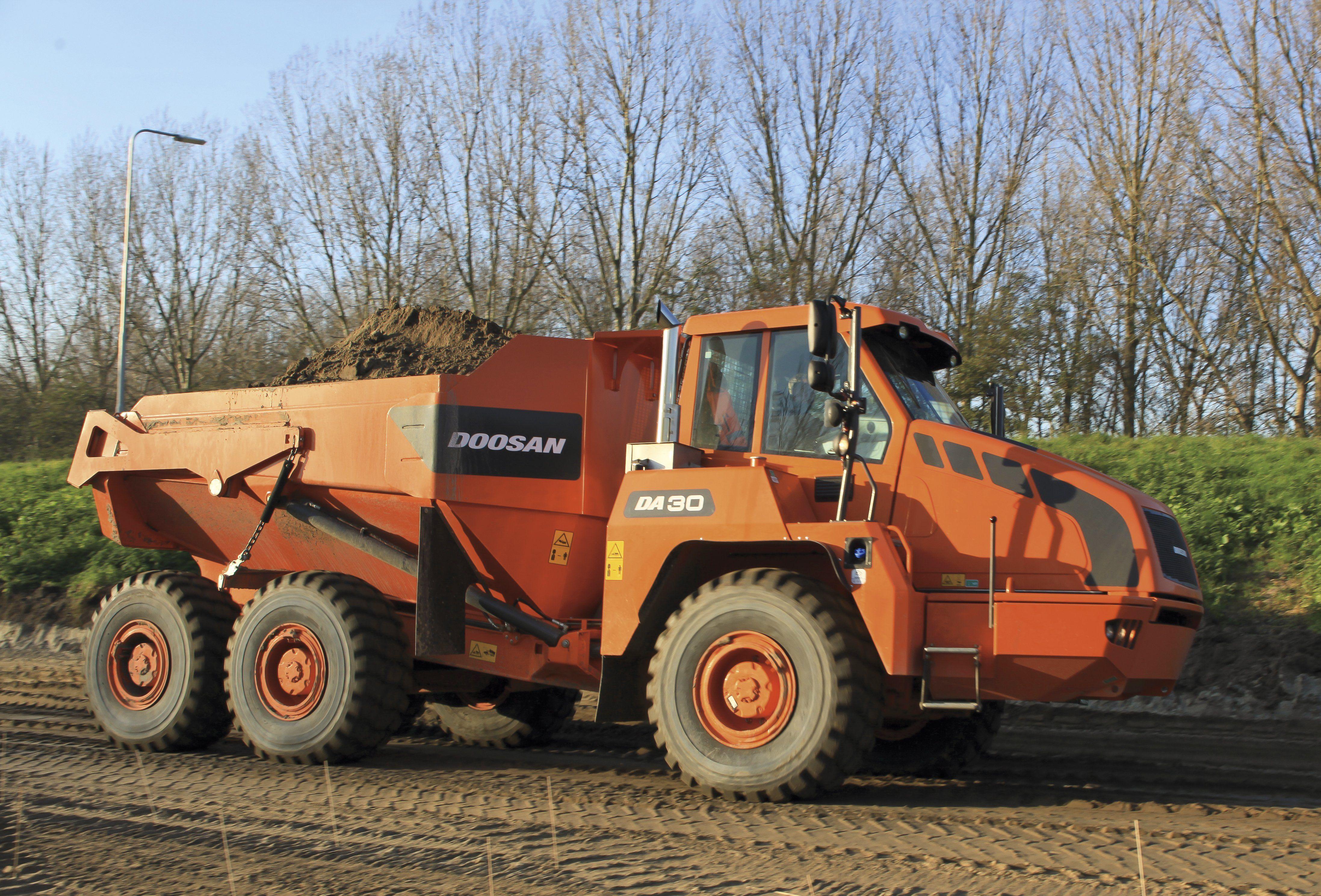 DA30 Articulated Dump Truck