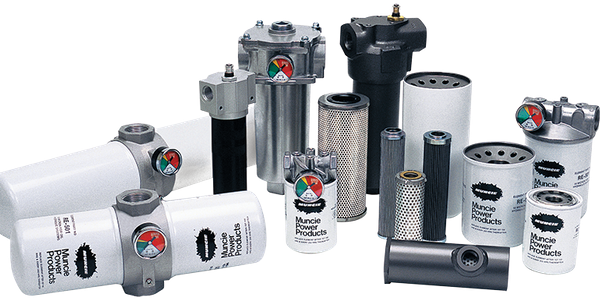 Photo courtesy of Muncie Power Products Inc. This line of hydraulic filters offers both...