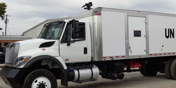 Skid Mounted Riot Control Water Cannon Truck