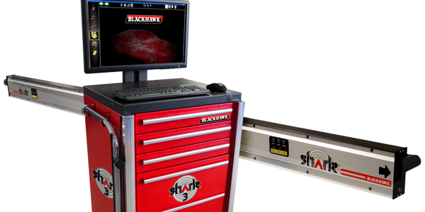 Shark 3 Measuring System with Cabinets