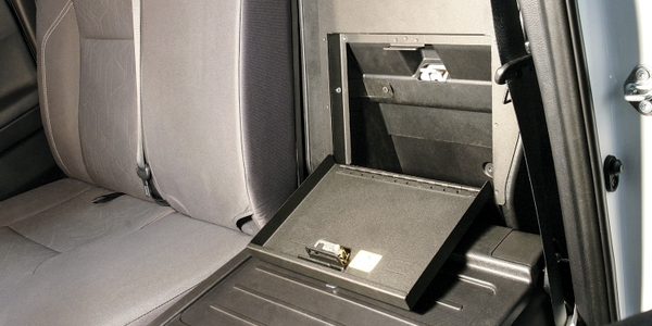 Security Cubby Cover for Toyota Tacoma
