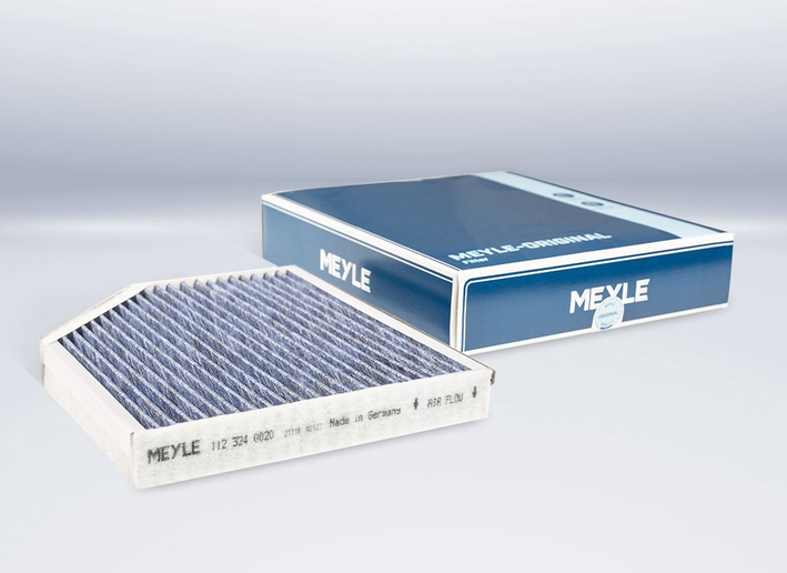 The cabin air filter consists of four layers.  - Photo courtesy of Meyle