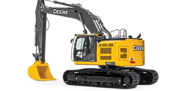 John Deere345G LC RTS Excavator