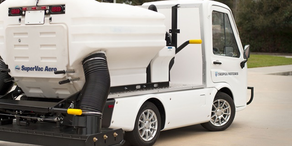 Tropos Motors Releases Nimble Electric Sweeper