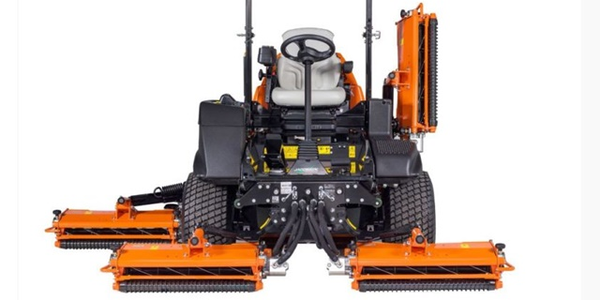 Photo of Jacobsen HF600 mower courtesy of Textron