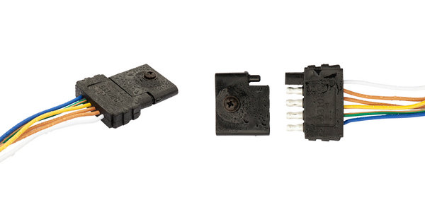 Connect-to-Protect's trailer harness plug protectos is available in 4-way and 5-way flat...