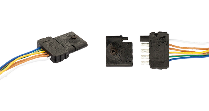 Connect-to-Protect's trailer harness plug protectos is available in 4-way and 5-way flat terminal styles.