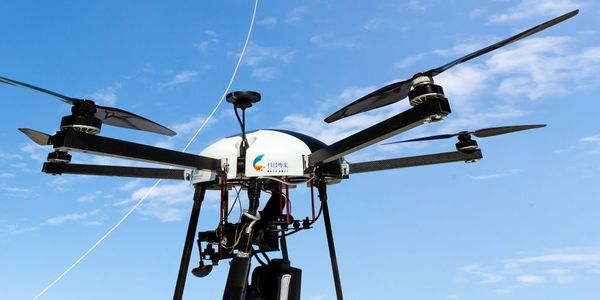 If an unmanned aerial vehicle (UAV) is low on power, it will automatically land and recharge at...