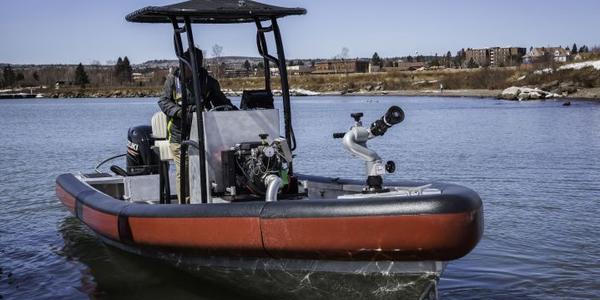 22-Foot Rigid Hull Inflatable Boat
