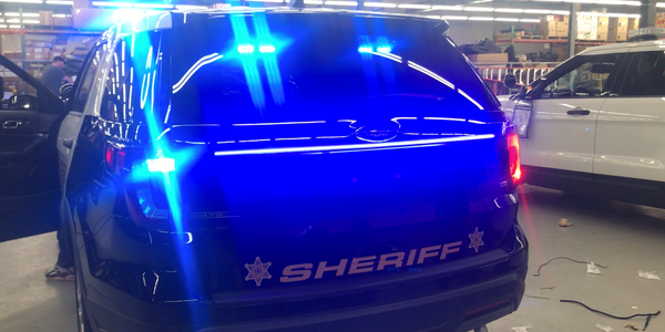 Rear Anti-Collision Light System Adds Officer Safety