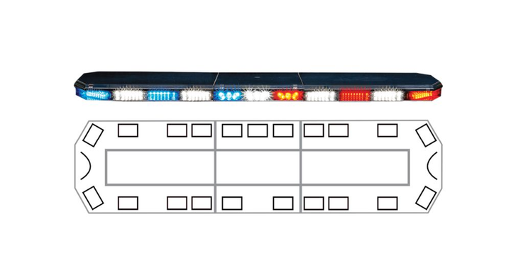 The Matrix system can program an entire emergency vehicle package, including lights and sirens.  - Photo courtesy of Code 3