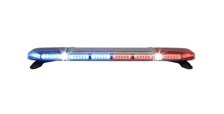 Whelen's Ceridian Lightbar features a low-profile design and versatile options for police fleets.