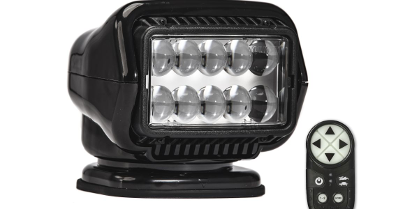 Golight Introduces Remote-Controlled LED and Halogen Searchlights