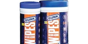 Gunk Launches Degreasing Wipes