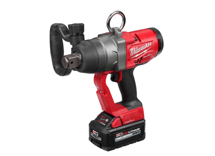 This cordless impact wrench is a first in the industry, according to the company.