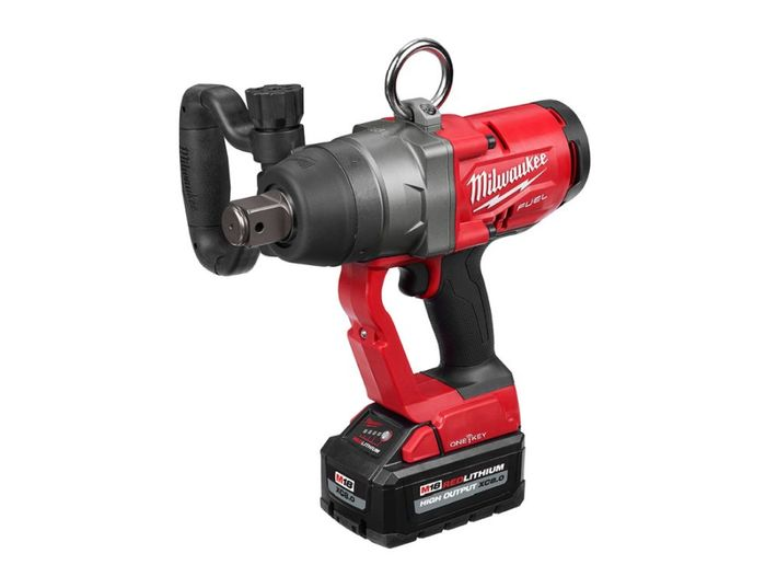 This cordless impact wrench is a first in the industry, according to the company.  - Photo courtesy of Milwaukee Tool