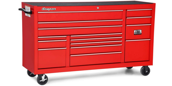 The new Snap-on Classic Roll Cab adds height and storage space.
