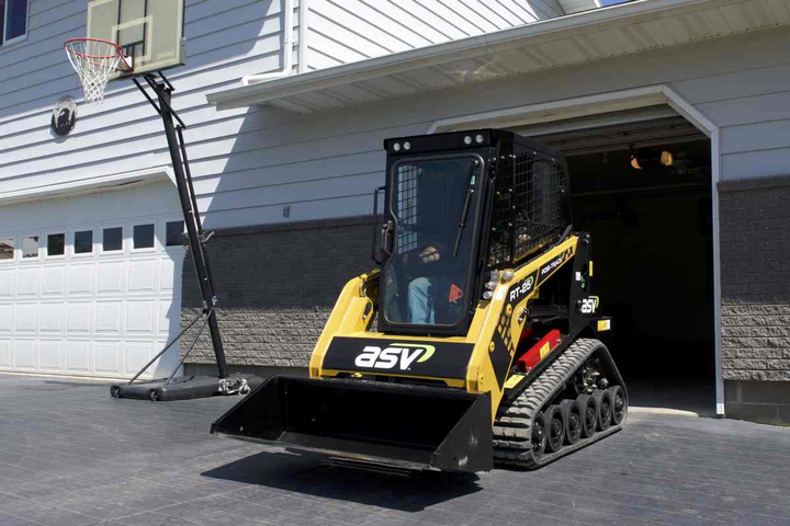 ASV's RT-25 is the World's Most Compact Track Loader