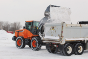 Doosan Wheel Loader Buckets Ideal for Snow Operations
