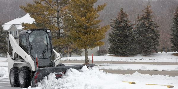 The SnowEx oscillating skid-steer mount can be used for its Heavy-Duty (HD) and Speedwing...