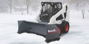 SnowEx Power Pusher TE Features Steel Trip-Edges