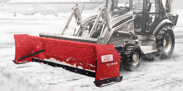 Western Products Brings Steel Trip-Edge to Pusher Plow Models