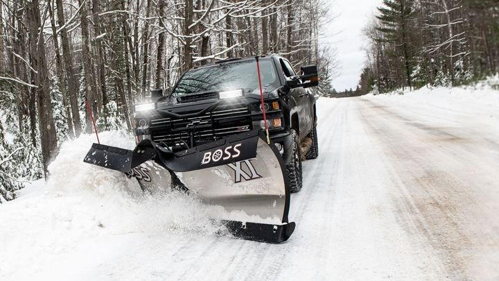 The BOSS XT is now available in 8-foot, 2-inch and 9-foot, 2-inch stainless steel models.