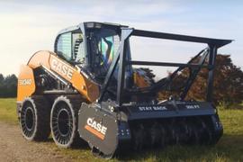 Case Construction Introduces Mulcher Attachment