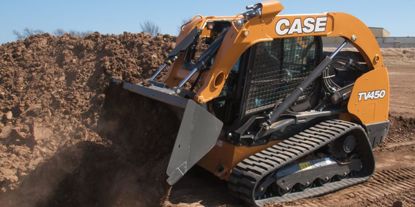 Case's TV450 compact track loader meets Tier 4 Final emissions standards with a selective...