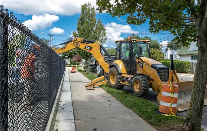 The Cat450backhoe loader comes with a CatC4.4 ACERT engine delivering a net horsepower of 128.  - Photo courtesy of Caterpillar