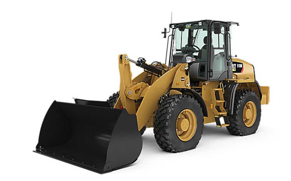 The 918M compact wheel loader has four new options.  - Photo courtesy of Caterpillar