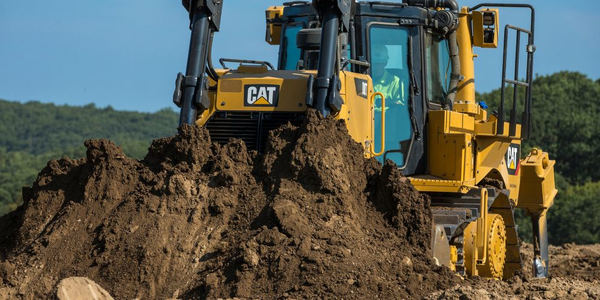 The Cat D8T dozer  meets U.S. EPA Tier 4 Final emission standards.