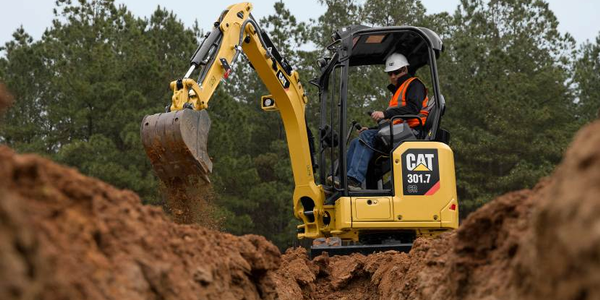 Cat Mini Excavators Include Industry-First Standard Features