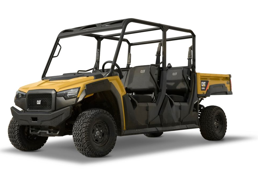 Cat has added the gasoline-powered CUV82 and diesel-powered CUV102 D to its utility vehicle...