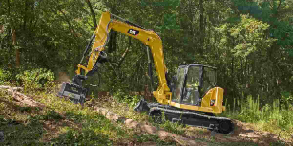 Caterpillar Expands Mini Excavator Range