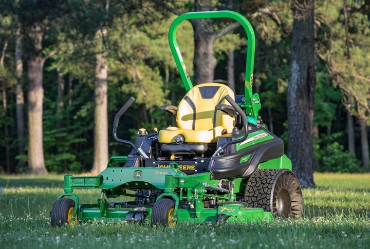 There are threemower deck options for the Z994R Diesel ZTrak mower: a 54-inch deck and two 60-inch deck options.  - Photo courtesy of Deere